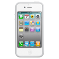 Apple iPhone 4s Bumper - White