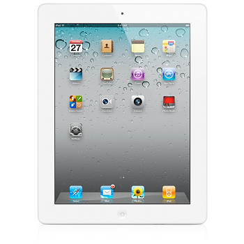 Apple iPad 2 64GB Wi-Fi+3G White [MC984LL/A]