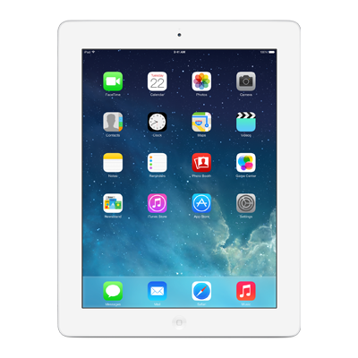 Apple iPad 4 Retina Display 64GB Wi-Fi + Cellular White